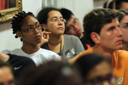 photo of seminar audience