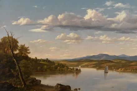 Artwork: Church, River Landscape, ca. 1848