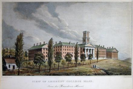 Amherst College in the 1800s