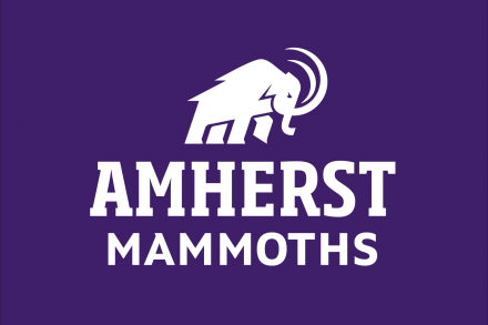 Mammoth logo with tagline Amherst Mammoths