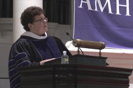 Biddy Martin delivers Convocation 2016 address