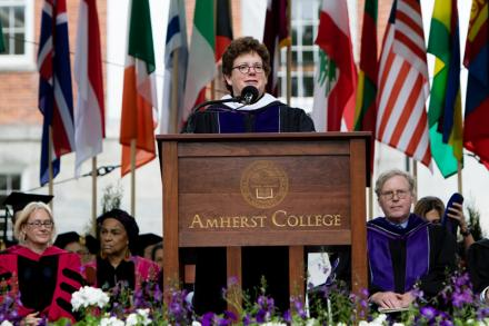President Martin delivers Commencement 2016 address
