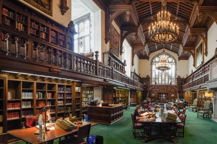 Folger Shakespeare Library reading room