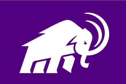 Amherst Mammoths logo