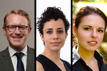 New tenure line faculty for 2018-19 t Amherst College