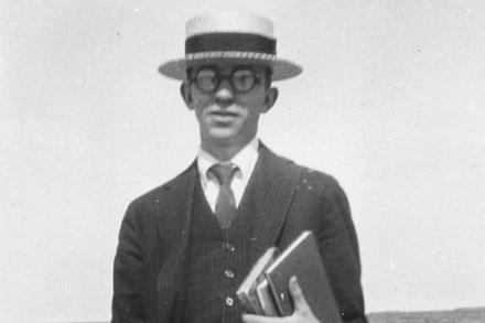 Portrait of Newton Arvin