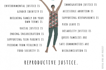 Reproductive Justice flyer