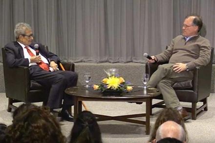 Amartya Sen and Ilan Stavans
