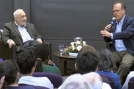 Joseph Stiglitz and Ilan Stavans