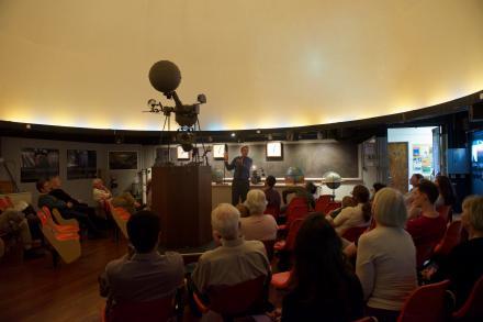 Bassett Planetarium dome