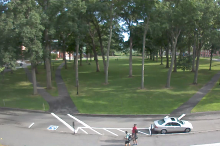 AmhCam view of Main Quad