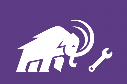 Mammoth with a wrench