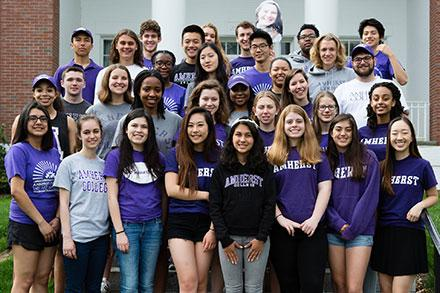 Amherst College Orientation and First year Programs Facebook page