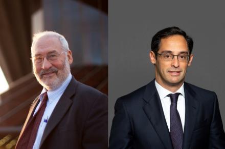 Joseph Stiglitz and David Novak