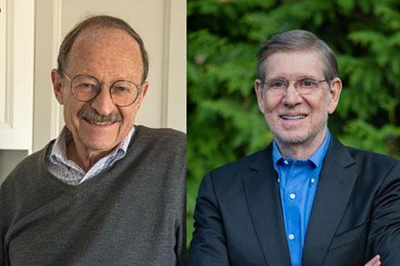 Harold Varmus and David Kessler