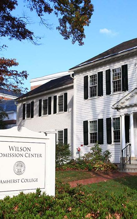 Wilson Admission Center, Amherst College