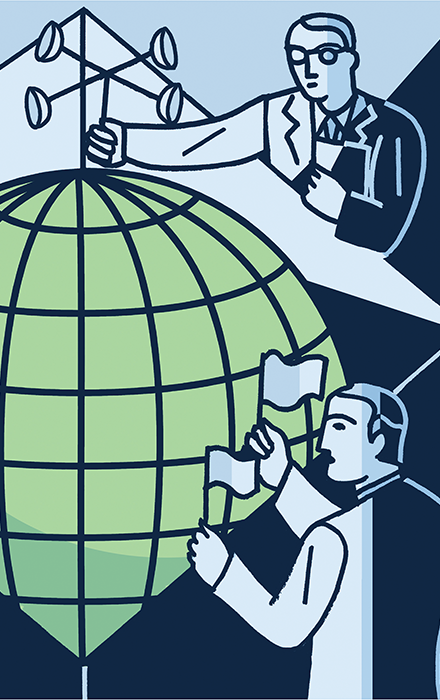 Toward a Global Future illustration