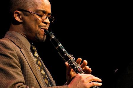 Darryl Harper playing instrument