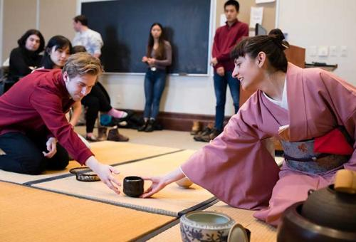 "Sam Morse's ""The Tea Ceremony and Japanese Culture"" course"