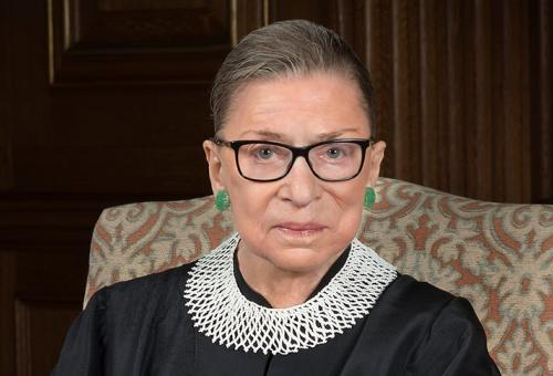 Ruth Bader Ginsburg: Photo credit -- Collection of the Supreme Court of the United States