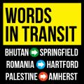 """Words in Transit"" poster"