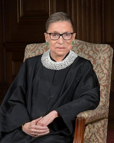 U.S. Supreme Court Justice Ruth Bader Ginsburg