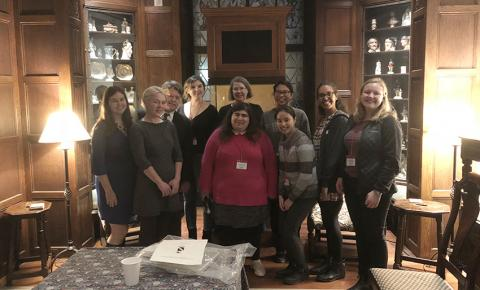 Folger fellows and staff