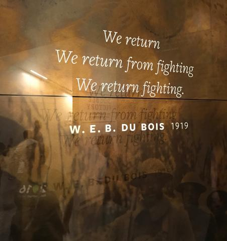 Du Bois return fighting