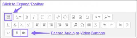 record video button