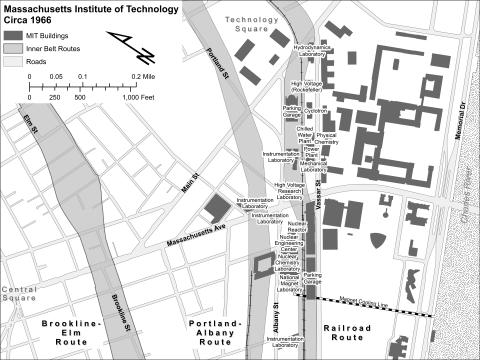 MIT and the Three Inner Belt Proposals