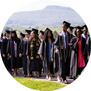graphic of commencement