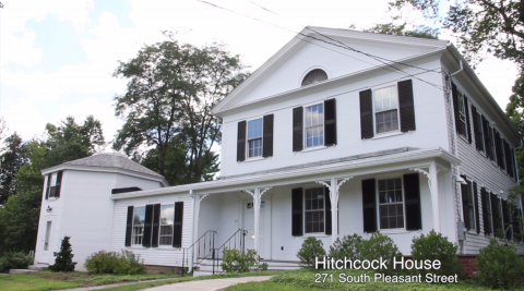 Front of Hitchcock House
