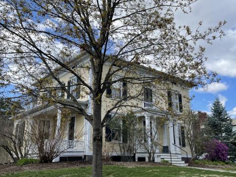 Grosvenor House in spring