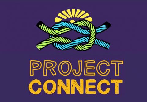 Project Connect woven cords logo