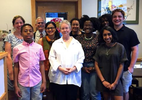 Sexuality, Women's and Gender Studies Department faculty and senior majors
