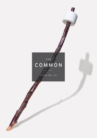 Issue 04 cover: a marshmallow on a stick