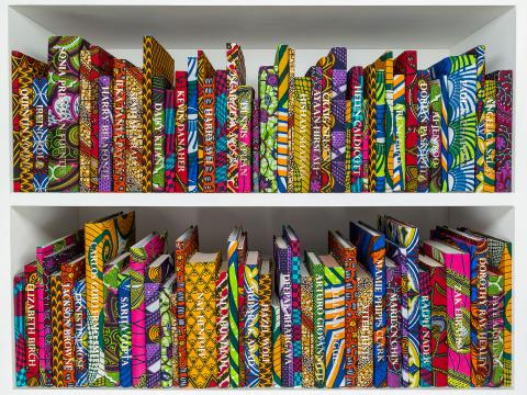 Yinka Shonibare, The American Collection (Activists)