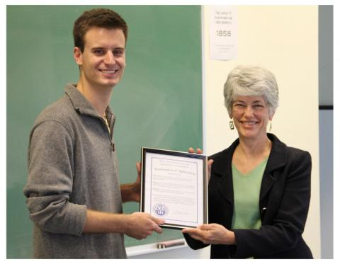 Student Senate Honors IT