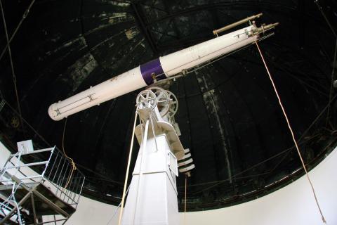 "Clark 18"" telescope"