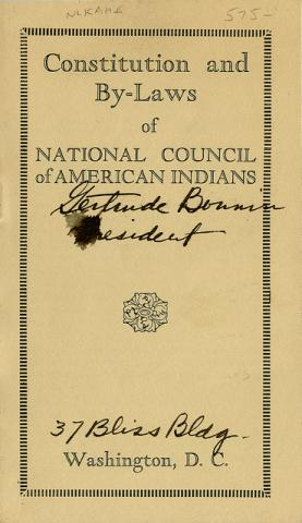 National Council of American Indians