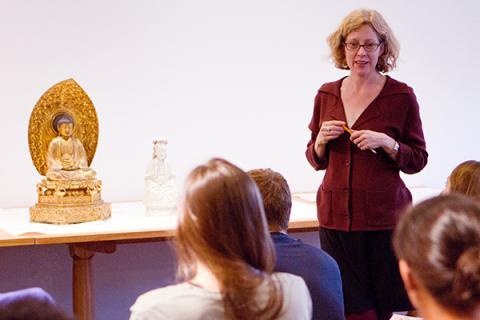Maria Heim class visit