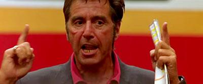 Al Pacino from Any Given Sunday