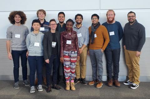 Amherst math group at JMM 2020