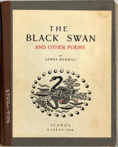 Cover of The Black Swan by James I. Merrill, published in 1946