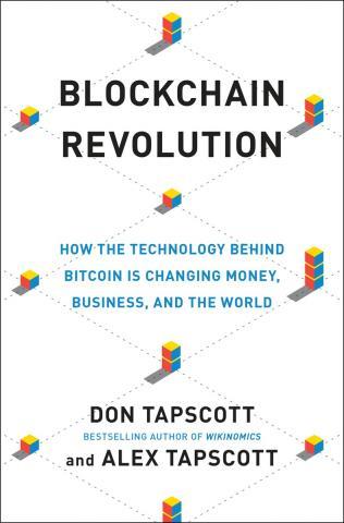 Blockchain Revolution book cover