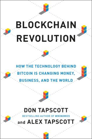 Blockchain Revolution book cover