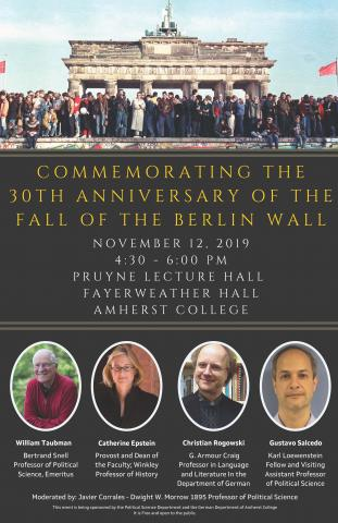Commemorating the 30th anniversary of the fall of the berlin wal
