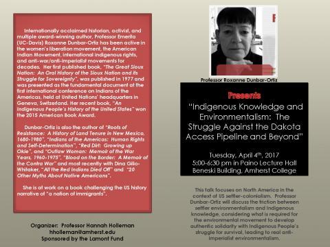 Professor Roxanne Dunbar-Ortiz