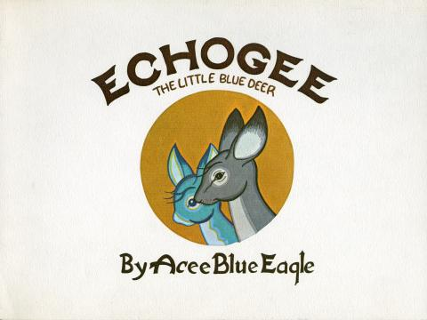 Echogee The Little Blue Deer Cover.jpg