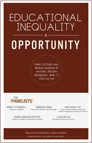 Educational Inequality and Opportunity